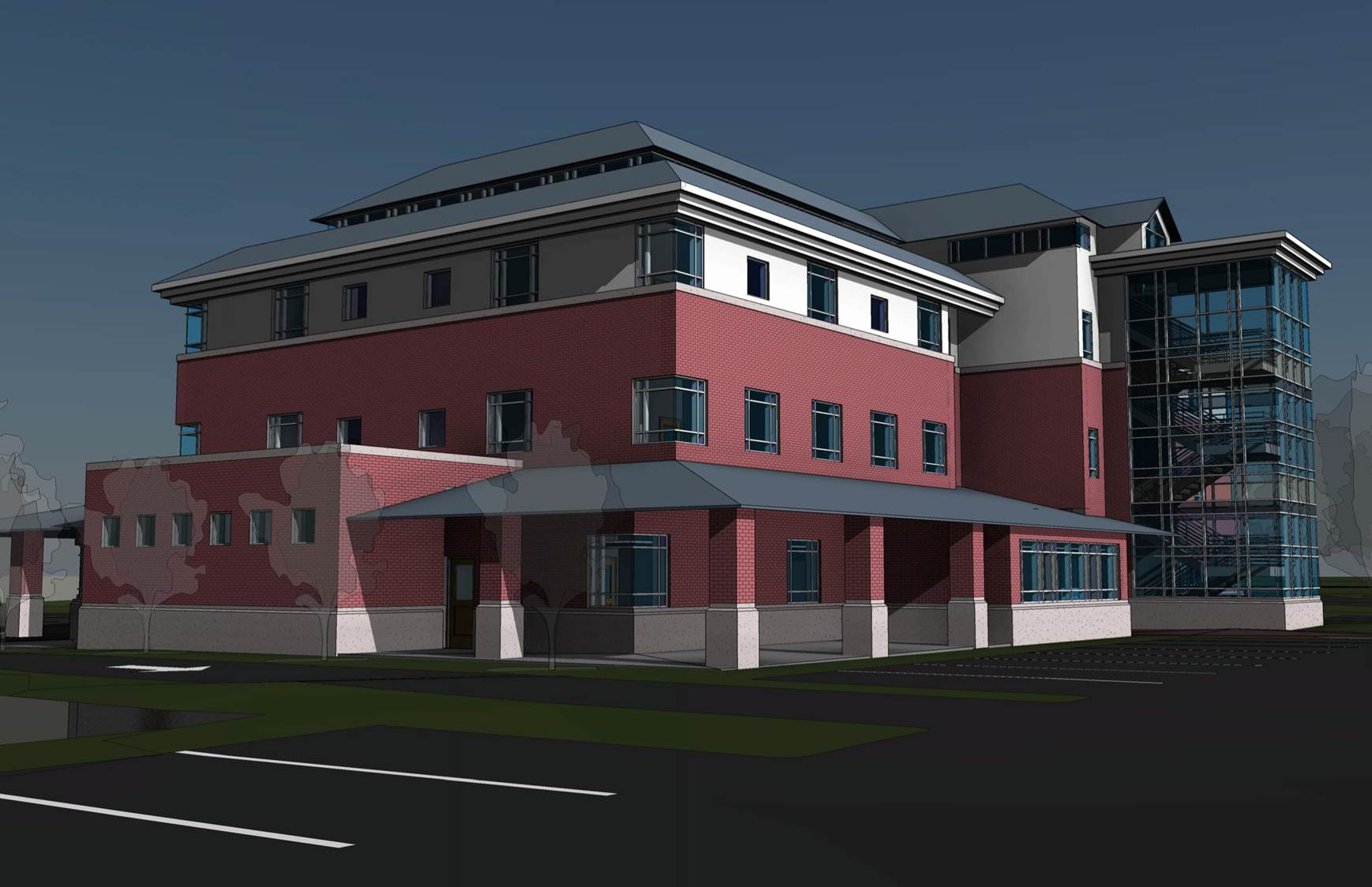 Central Falls Neighborhood Health Station Rendering